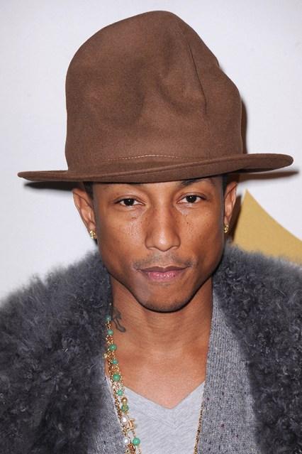 A new Girl for Pharrell Williams